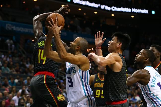 Atlanta Hawks vs. Charlotte Hornets - 11/25/18 NBA Pick, Odds, and Prediction