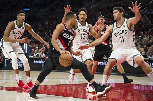 Milwaukee Bucks vs. Portland Trail Blazers - 11/21/18 NBA Pick, Odds, and Prediction