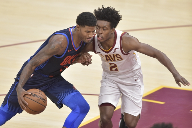 Oklahoma City Thunder vs. Cleveland Cavaliers - 11/28/18 NBA Pick, Odds, and Prediction