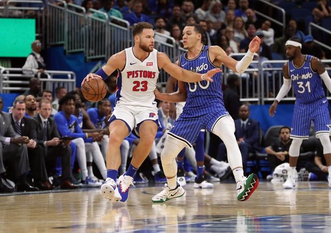 Orlando Magic vs. Detroit Pistons - 12/30/18 NBA Pick, Odds, and Prediction