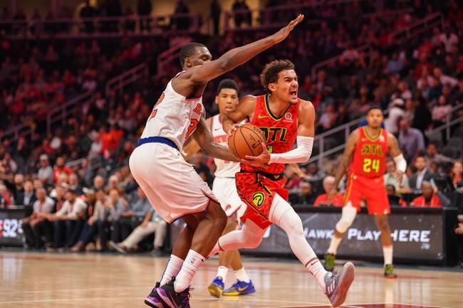 New York Knicks vs. Atlanta Hawks - 12/21/18 NBA Pick, Odds, and Prediction