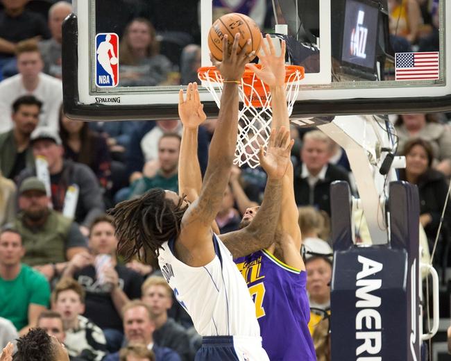 Dallas Mavericks vs. Utah Jazz - 11/14/18 NBA Pick, Odds, and Prediction