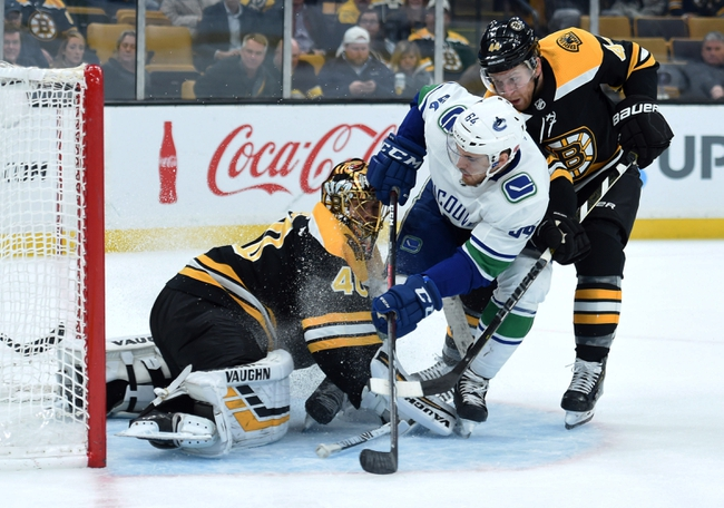 Boston Bruins vs. Vancouver Canucks - 2/4/20 NHL Pick, Odds, and Prediction