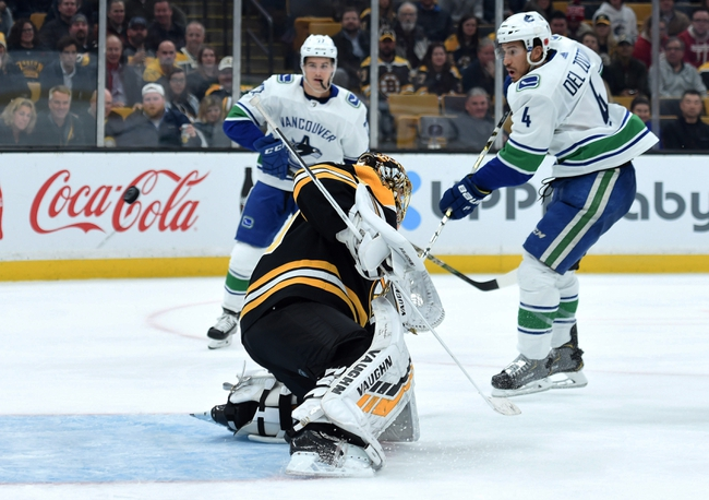 Boston Bruins vs. Vancouver Canucks - 2/4/20 NHL Pick, Odds & Prediction