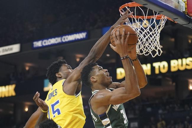 Milwaukee Bucks vs. Golden State Warriors - 12/7/18 NBA Pick, Odds, and Prediction