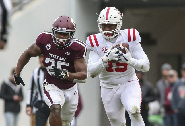 Mississippi Ole Miss Rebels vs. Texas A&M - 10/19/19 College Football Pick, Odds, and Prediction