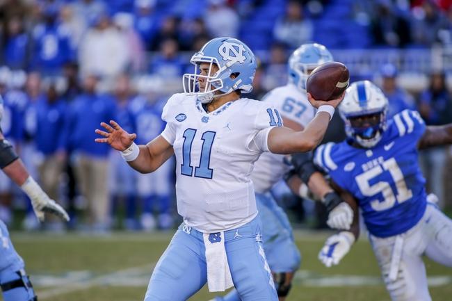 North Carolina vs. Western Carolina - 11/17/18 College Football Pick, Odds, and Prediction