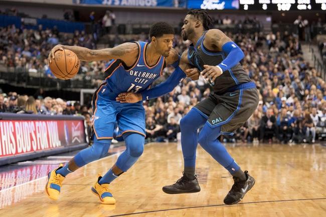 Dallas Mavericks vs. Oklahoma City Thunder - 12/30/18 NBA Pick, Odds, and Prediction