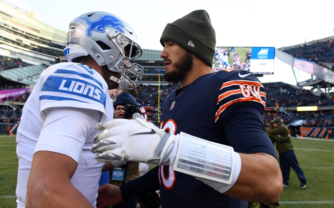 Detroit Lions vs. Chicago Bears - 11/22/18 NFL Pick, Odds, and Prediction