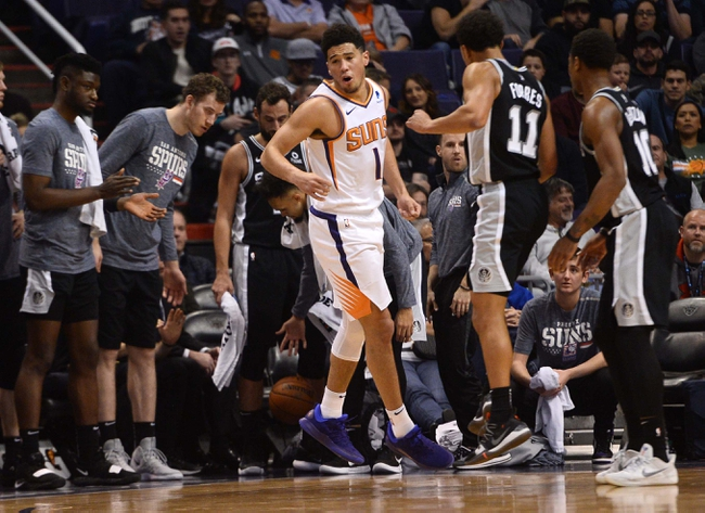 San Antonio Spurs vs. Phoenix Suns - 12/11/18 NBA Pick, Odds, and Prediction