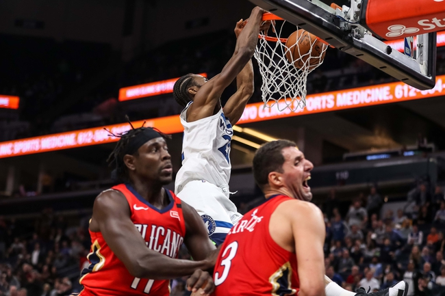 New Orleans Pelicans vs. Minnesota Timberwolves - 12/31/18 NBA Pick, Odds, and Prediction