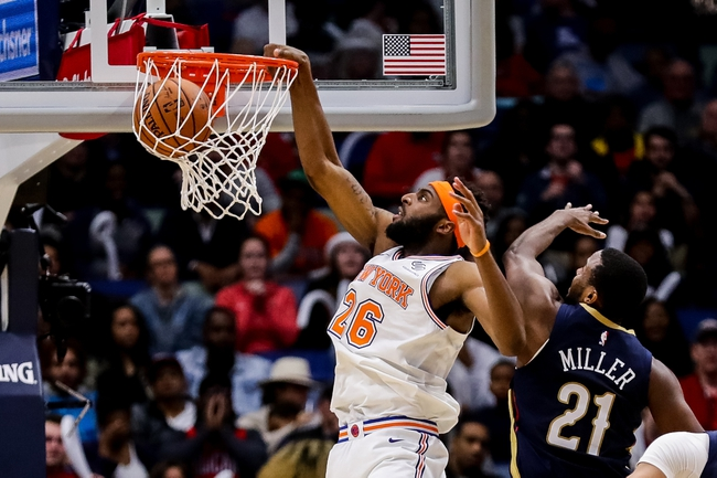 New York Knicks vs. New Orleans Pelicans - 11/23/18 NBA Pick, Odds, and Prediction