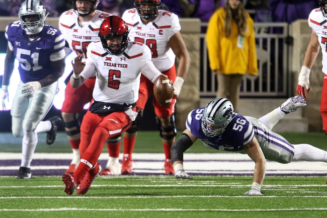 Texas Tech vs. Baylor - 11/24/18 College Football Pick, Odds, and Prediction