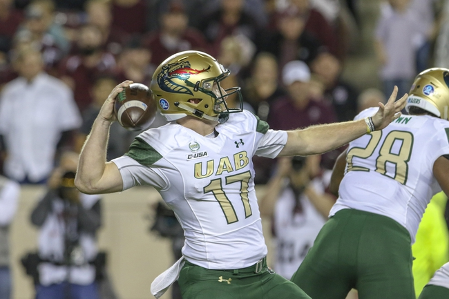 UAB vs. South Alabama - 9/21/19 College Football Pick, Odds, and Prediction