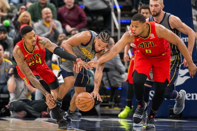 Atlanta Hawks vs. Indiana Pacers - 12/26/18 NBA Pick, Odds, and Prediction