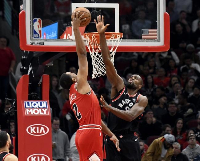 Toronto Raptors vs. Chicago Bulls - 12/30/18 NBA Pick, Odds, and Prediction