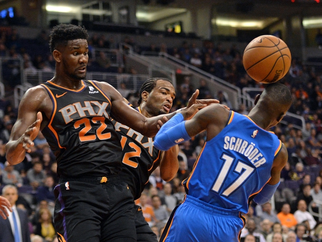Phoenix Suns vs. Oklahoma City Thunder - 12/28/18 NBA Pick, Odds, and Prediction