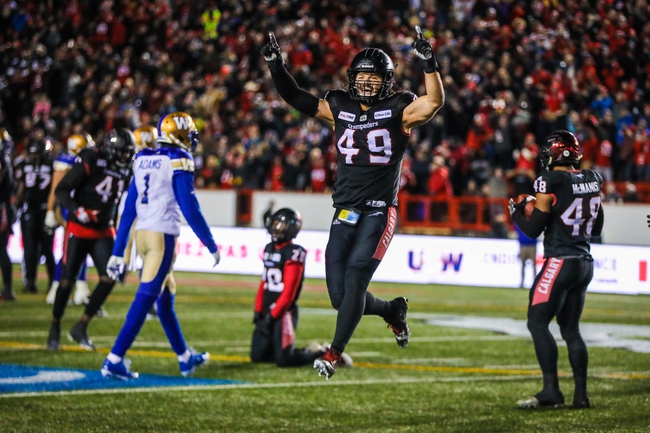Winnipeg Blue Bombers vs. Calgary Stampeders - 10/25/19 CFL Pick, Odds, and Prediction