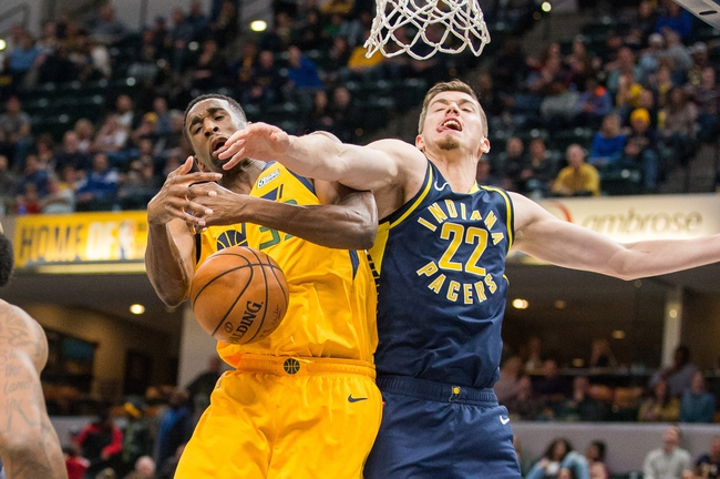 Utah Jazz vs. Indiana Pacers - 11/26/18 NBA Pick, Odds, and Prediction