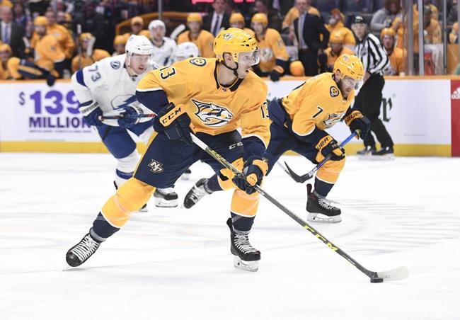 Tampa Bay Lightning vs. Nashville Predators - 10/26/19 NHL Pick, Odds, and Prediction