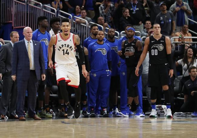 Orlando Magic vs. Toronto Raptors - 12/28/18 NBA Pick, Odds, and Prediction