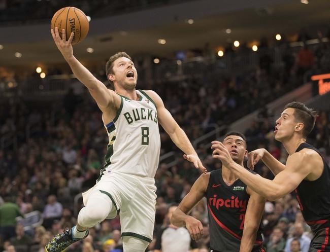 Milwaukee Bucks vs. Portland Trail Blazers - 11/21/19 NBA Pick, Odds, and Prediction