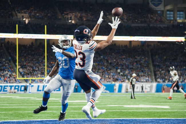 Chicago Bears vs. Detroit Lions - 11/10/19 NFL Pick, Odds, and Prediction