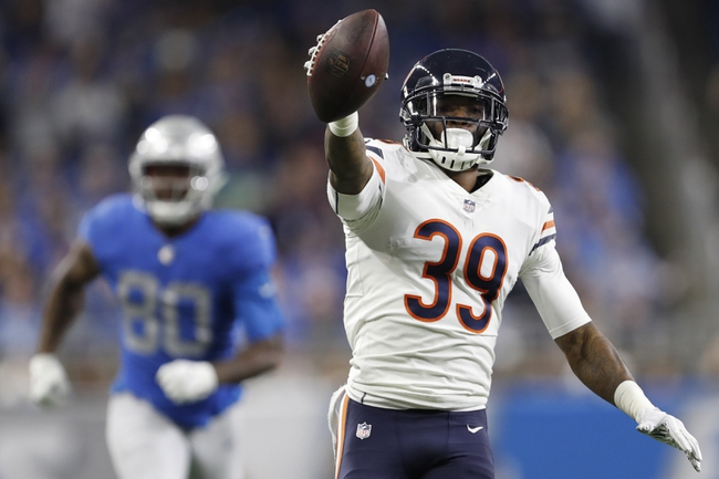 Detroit Lions at Chicago Bears - 11/10/19 NFL Pick, Odds, and Prediction