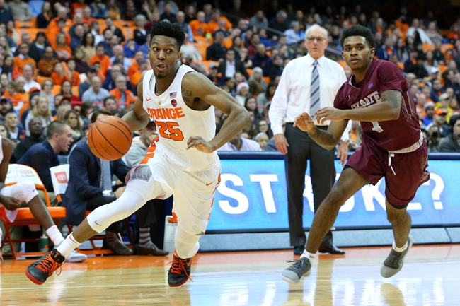 Syracuse vs. Georgetown - 12/8/18 College Basketball Pick, Odds, and Prediction