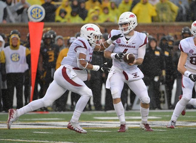 Arkansas vs. WKU - 11/9/19 College Football Pick, Odds, and Prediction