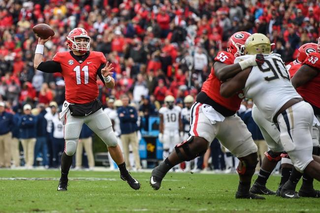 Georgia vs. Alabama - SEC Championship Game - 12/1/18 College Football Pick, Odds, and Prediction