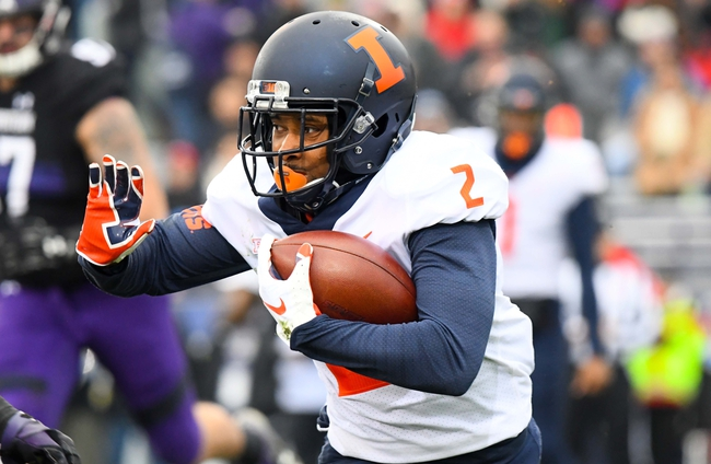 Illinois vs. Akron - 8/31/19 College Football Pick, Odds, and Prediction