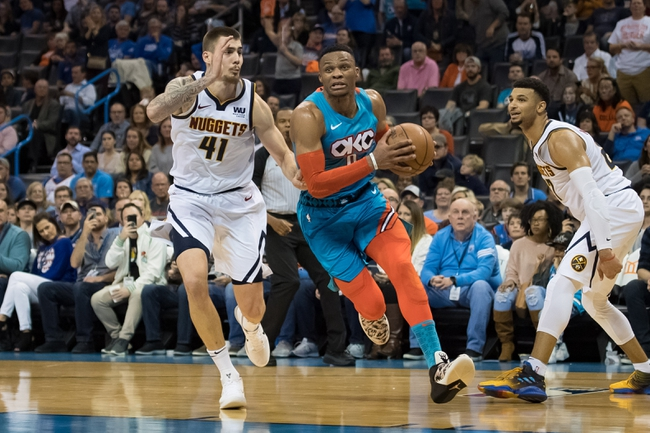 Denver Nuggets vs. Oklahoma City Thunder - 12/14/18 NBA Pick, Odds, and Prediction