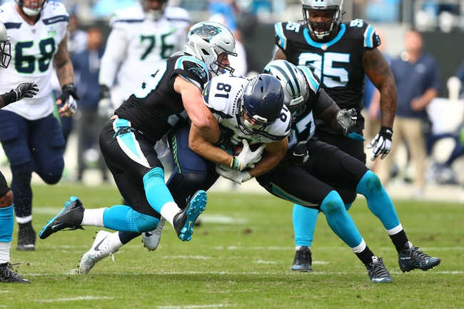 Seattle Seahawks at Carolina Panthers - 12/15/19 NFL Pick, Odds, and Prediction