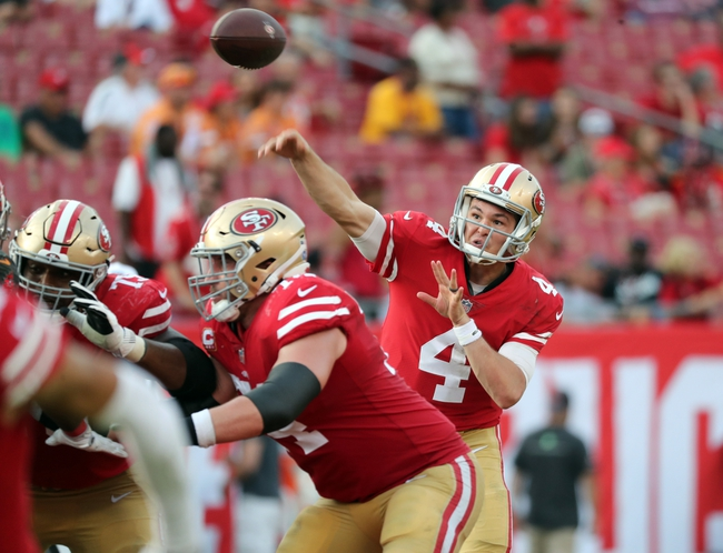 San Francisco 49ers at Tampa Bay Buccaneers - 9/8/19 NFL Pick, Odds, and Prediction