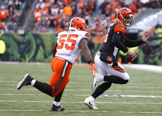 Cincinnati Bengals at Cleveland Browns - 12/23/18 NFL Pick, Odds, and Prediction
