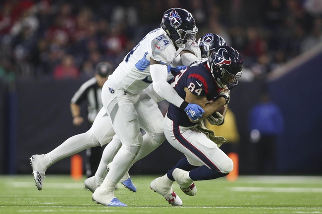 Houston Texans at Tennessee Titans - 12/15/19 NFL Pick, Odds, and Prediction
