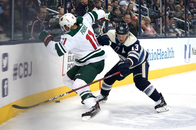 Minnesota Wild vs. Columbus Blue Jackets - 2/25/20 NHL Pick, Odds, and Prediction