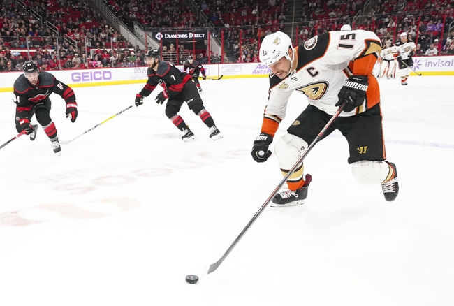 Carolina Hurricanes vs. Anaheim Ducks - 1/17/20 NHL Pick, Odds & Prediction