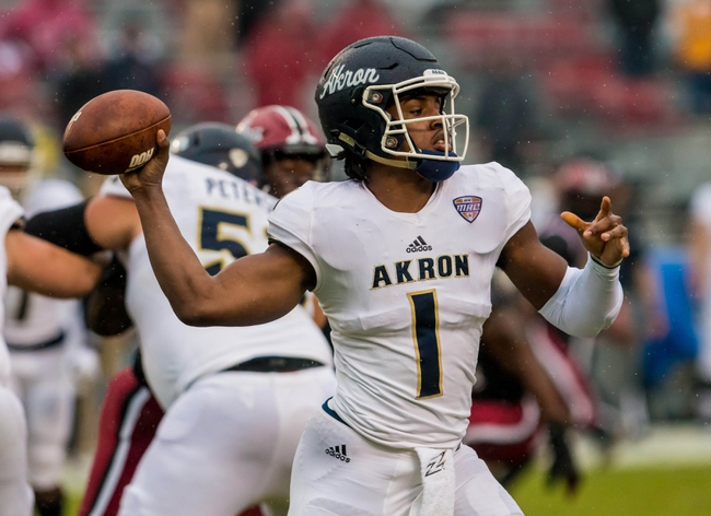 Akron Zips 2020 Win Total - College Football Pick, Odds, and Prediction