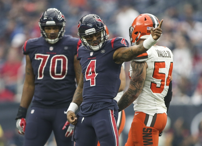 Houston Texans at Cleveland Browns: 11/15/20 NFL Picks and Prediction