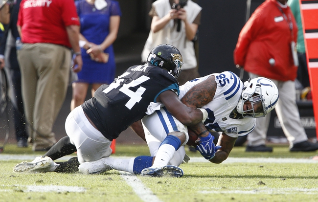 Jacksonville Jaguars at Indianapolis Colts - 11/17/19 NFL Pick, Odds, and Prediction
