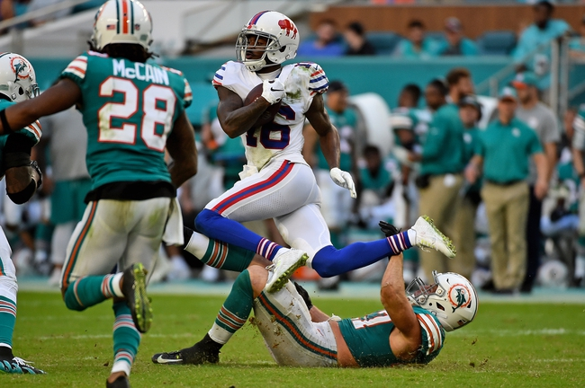Buffalo Bills vs. Miami Dolphins - 12/30/18 NFL Pick, Odds, and Prediction