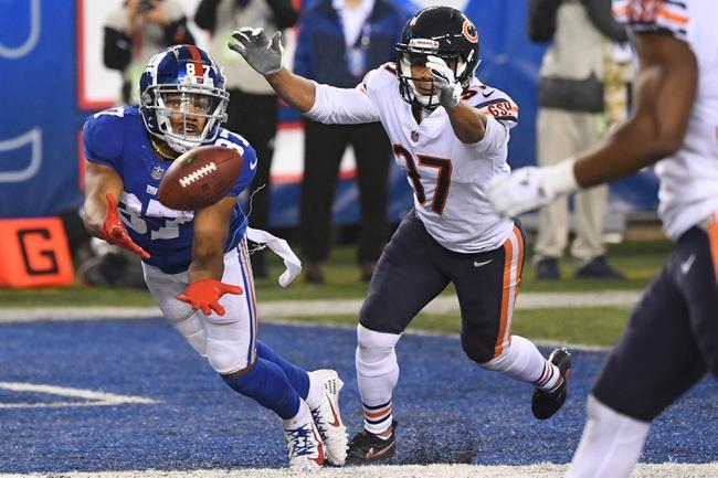 New York Giants vs. Chicago Bears - 8/16/19 NFL Preseason Pick, Odds, and Prediction