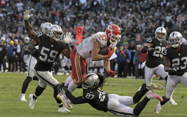 Oakland Raiders at Kansas City Chiefs - 12/30/18 NFL Pick, Odds, and Prediction