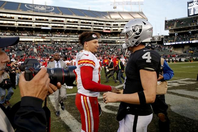 Kansas City Chiefs vs. Oakland Raiders - 12/30/18 NFL Pick, Odds, and Prediction