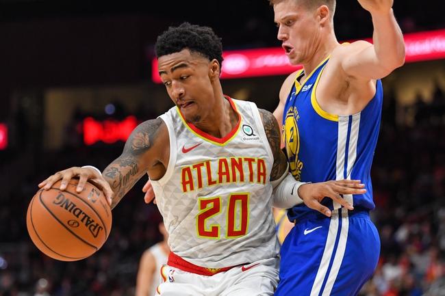 Atlanta Hawks vs. Golden State Warriors - 12/2/19 NBA Pick, Odds, and Prediction