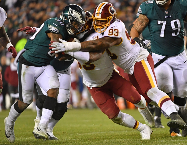 Philadelphia Eagles at Washington Redskins - 12/30/18 NFL Pick, Odds, and Prediction