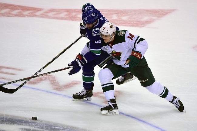 Minnesota Wild vs. Vancouver Canucks - 1/12/20 NHL Pick, Odds & Prediction