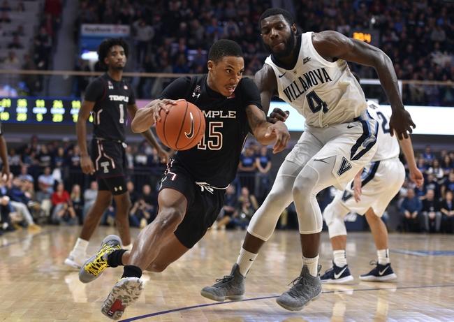 Temple vs. Villanova - 2/16/20 College Basketball Pick, Odds, and Prediction